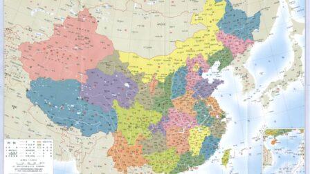 历史地图:中国历史地图详细版